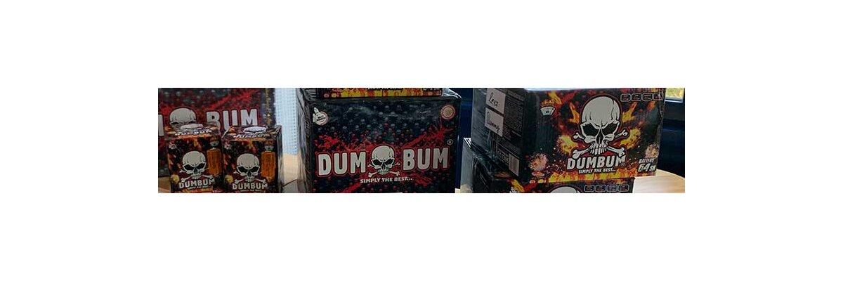 Neue Klasek & Dumbum  Artikel für den  Feuerwerksverkauf 2020 - Dumbum in