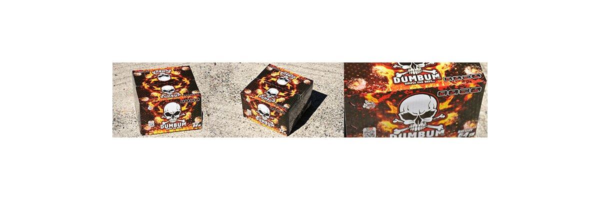 Dumbum 64 Shots Vuurwerkbatterij van Klasek - Dumbum Vuurwerk van Klasek