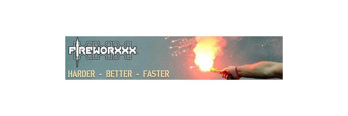 Fireworxxx - Vuurwerkverkoop 2020 in Emmerich (Duitsland) - Fireworxxx - grote vuurwerkverkoop in duitsland