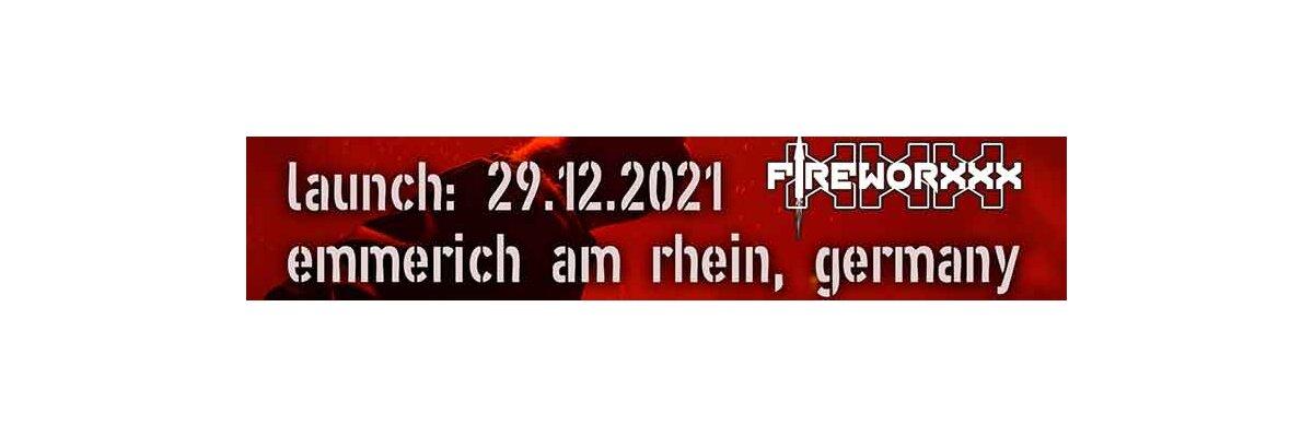 Vuurwerkverkoop 2021 in Duitsland - Fireworxxx - de grote vuurwerkverkoop in Duitsland