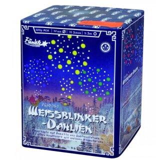 Funke Weissblinker-Dahlien
