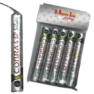 DiBlasio - Cobra-6 BP6 Silver (5er-Pack)