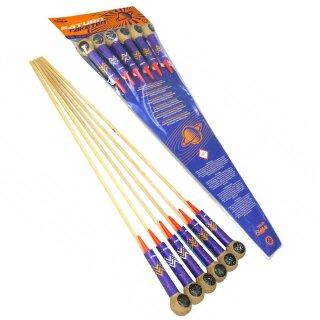 Funke Saturn-Raketen (6er-Pack)